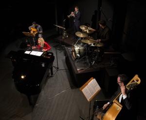 Caroll Vanwelden und Band Foto: Christoph Krey