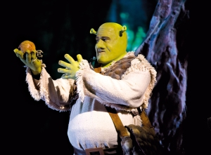 Shrek erklärt die Oger-Zwiebel Theorie Foto: Jens Hauer