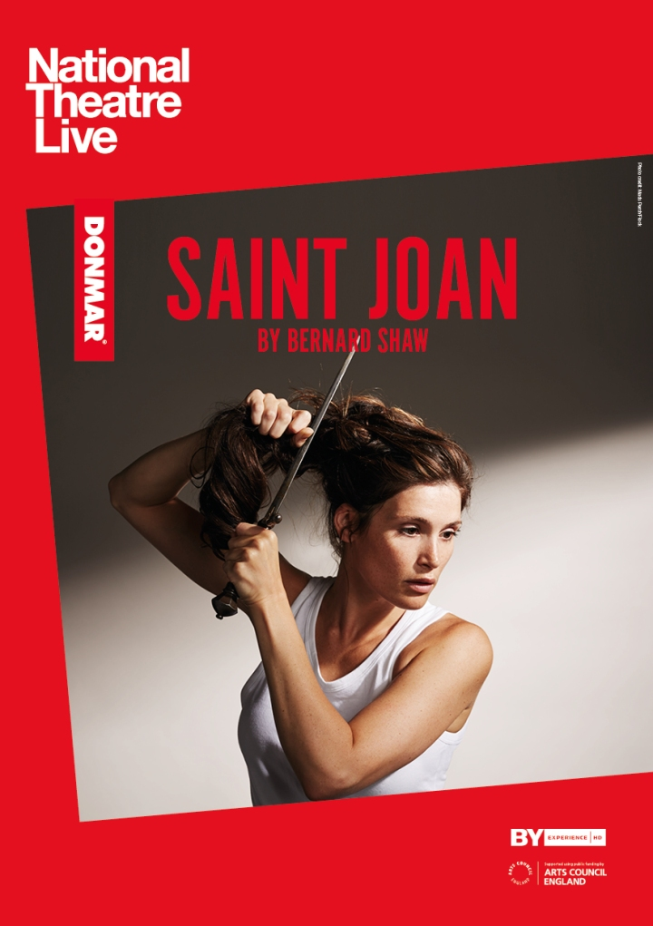 NT Live Saint Joan Portrait Listings Image - International