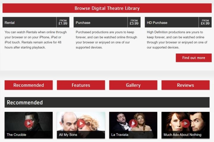 Digital Theatre Preise