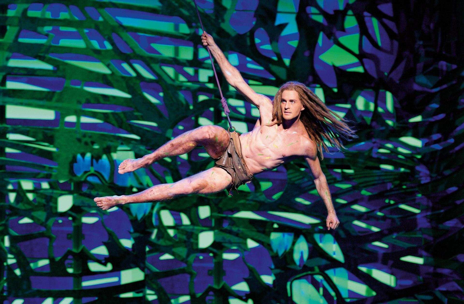 Alexander Klaws als Tarzan Disney Musical
